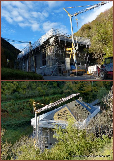 La toiture de la centrale hydroélectrique de Guchen se refait une beauté ...   Vallée d'Aure - Pyrénées   Scoop.it