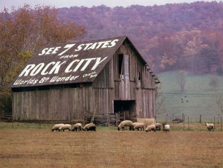 'See Rock City' barns vanishing from landscape - WBIR-TV | American Barns | Scoop.it