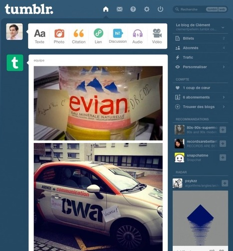 Comment le Community Manager peut-il intégrer Tumblr à sa stratégie social-média ? | Time to Learn | Scoop.it