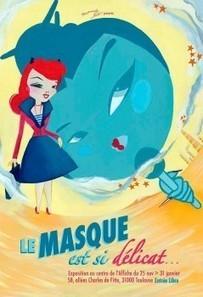 Contemporanéités de l'art |Mademoiselle Kat au Centre de l'Affiche ... | mademoiselle kat | Scoop.it