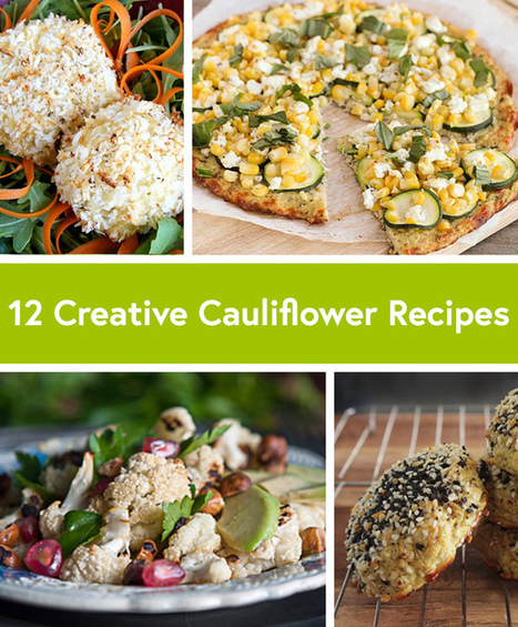 12 Healthy and Creative Cauliflower Recipes - Life by DailyBurn | My Vegan recipes | Scoop.it