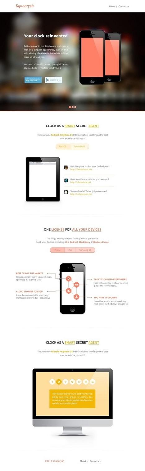 6 Stunning Marketing PSD Templates | Web Development Tutorials and Resources @ ScratchingInfo | ScratchingInfo Web Development Tutorials and Resources | Scoop.it