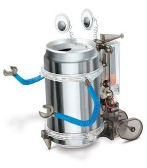 4M Tin Can Robot   Online Store   Scoop.it