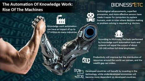 The Automation Of Knowledge Work: Rise Of The Machines | leapmind | Scoop.it