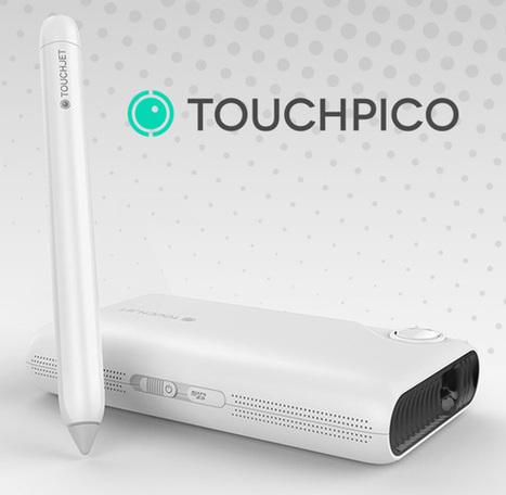 TouchPico : un projecteur qui affiche une surface tactile au mur ! - FrAndroid   Android & DIY   Scoop.it