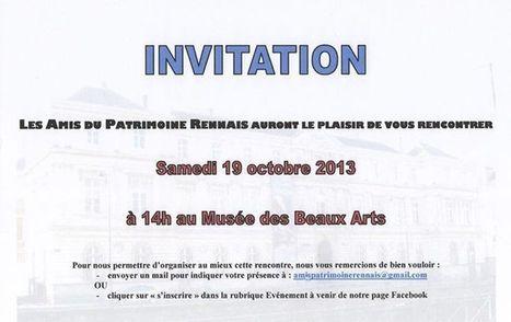 *** INVITATION *** | Les Amis du Patrimoine Rennais | Scoop.it