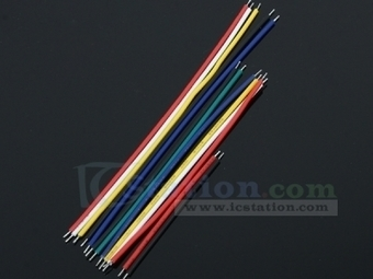 24AWG Tinning Wire Double Tinned Colorful Cable 5CM 8CM 10CM 13 Types 10pcs each - Copper Wire - Arduino, 3D Printing, Robotics, Raspberry Pi, Wearable, LED, development boardICStation | Programmer & ICs Components | Scoop.it