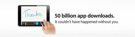 App Store Hits 50 Billion Downloads: All Time Best Sellers for iPad | Is the iPad a revolution ? | Scoop.it