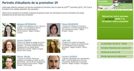 Promotion 29 (2016-2017) de la formation d'éco-conseiller : c'est parti !   Le fil vert d'ECO-Conseil   Scoop.it
