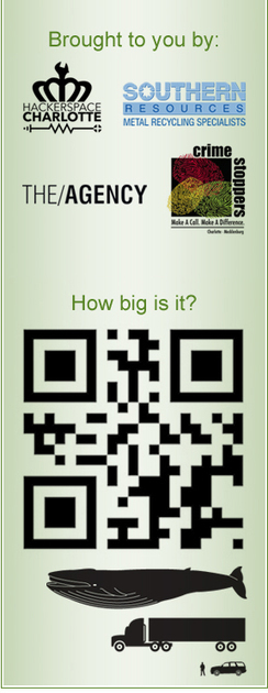 World's Largest QR Code - Hackerspace, Southern Resources, Crimestoppers, The Agency // Charlotte, NC | Social Media, the 21st Century Digital Tool Kit | Scoop.it