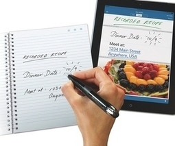 Livescribe's beautiful new smartpen turns pen and paper into apps and pixels | Kids tablet and app reviews | Scoop.it