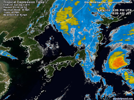"[Point Météo] Japon 2011 :  ""annus horribilis"" ! 