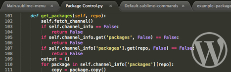 Wordpress Extensions for Sublime Text 2 - Speckyboy Design Magazine | Wordpress and webdesign | Scoop.it