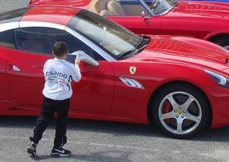 Ferrari e Lamborghini in mostra per la TAC di Palidoro   SOS-TAC Palidoro   Scoop.it