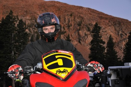 Pikes Peak 2012 - Saturday, June 2nd – Upper Mountain Practice | Spider Grips Ducati | Ductalk | Scoop.it