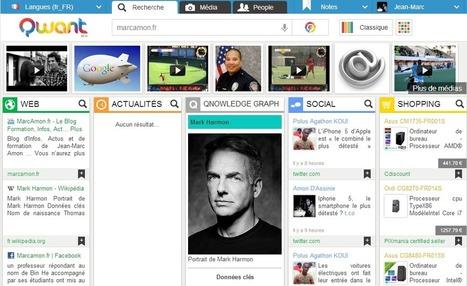 Qwant : Un nouveau moteur de recherche - MarcAmon.fr   Veille_Curation_tendances   Scoop.it
