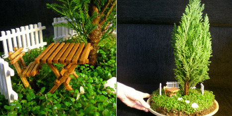 Art & Botany: Miniature Gardens | Garden Design | Botany Whimsy | Scoop.it