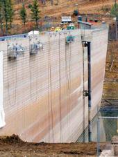Grindstone dam liner installation underway in Ruidoso - Ruidoso News | Western liner's scoop.it! | Scoop.it
