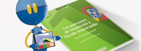 Réseau Canopé - Les parcours de motricité à l'école maternelle : un produit transmédia | Narration transmedia et Education | Scoop.it