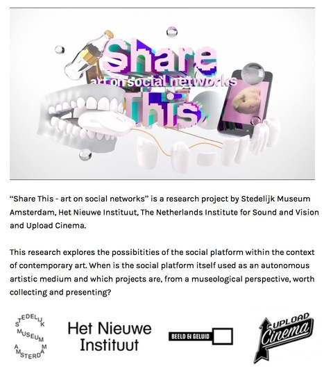 Share This. a research projet on Art in social networks... /// #mediaart #netart | musée numérique | Scoop.it