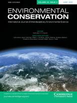 Environmental Conservation -  Volume 43 - Issue 02 - June 2016 | Parution de revues | Scoop.it