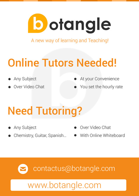 Register for a online tutoring | Welcome to Botangle | Scoop.it