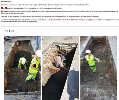 À Saint-Sernin, les fouilles archéologiques sont terminées : pour quels résultats ? | Musée Saint-Raymond, musée des Antiques de Toulouse | Scoop.it