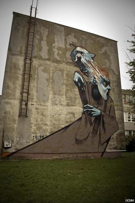 Street Art by Przemek Blejzyk | Cuded | Street Protest Art | Scoop.it