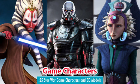 25 Star War Game Characters and 3D Models for your Inspiration | SOCIAL MEDIA Y EDUCACIÓN | Scoop.it
