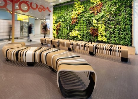 A New Era of Waiting Rooms: Green Furniture for a Waiting Room | Green With Envy | Sustainable Office and Public Spaces | Scoop.it