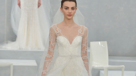 14 Absolutely Stunning Wedding Dresses With Sleeves | a la mode | Scoop.it
