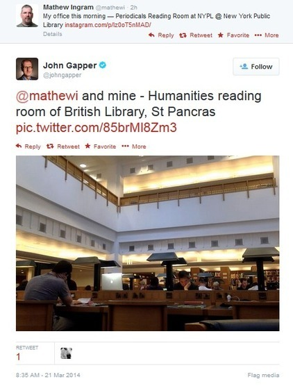 Library Claims Copyright Infringement Over Harmless Tweet - Social News Daily | Library Collaboration | Scoop.it