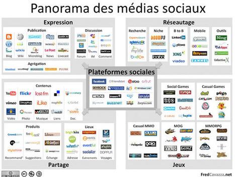 panorama réseaux sociaux | présentation générale des réseaux sociaux | Scoop.it