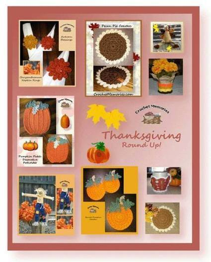 8 Free Thanksgiving Crochet Patterns with Crochet Memories | Crochet Street | To Crochet or To Knit that is the question | Scoop.it