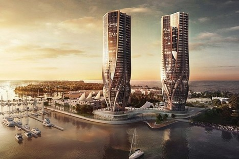 zaha hadid plans dual mariner's cove towers in australia | Architectural & Design Solutions | Scoop.it