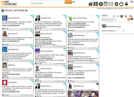 viedoc | RSS Sourcing : une interface unique de consultation de vos informations numériques | veillepédagogique | Scoop.it