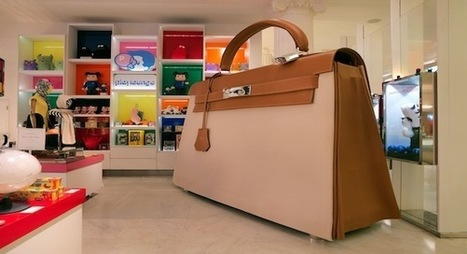 Hermès fait le tour du monde avec son Kellydoscope! | streetmarketing | Scoop.it