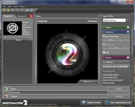 Photomizer 2 optimise vos photos | Chroniques libelluliennes | Scoop.it