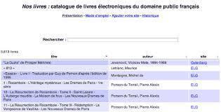 Nos livres | Livres numériques du domaine public, ebooks gratuits | Scoop.it