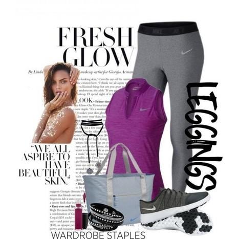 Wardrobe Staples: Leggings | Everything Golf | Scoop.it