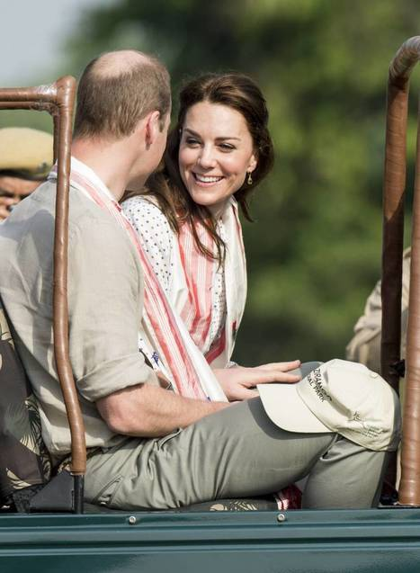 Kate Middleton et William : comment leur voyage en Inde a renforcé leur amour | Body language Langage du corps | Scoop.it