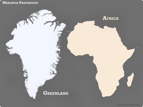 Que no te engañen, este no es el tamaño real de África. Pero este otro sí y te dejará atónito. | Nuevas Geografías | Scoop.it
