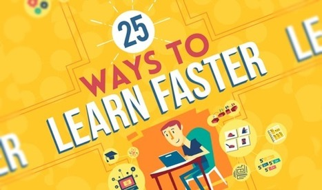 25 Ways to Learn Faster (Infographic) by Irfan Ahmad | Educational Tools | Scoop.it