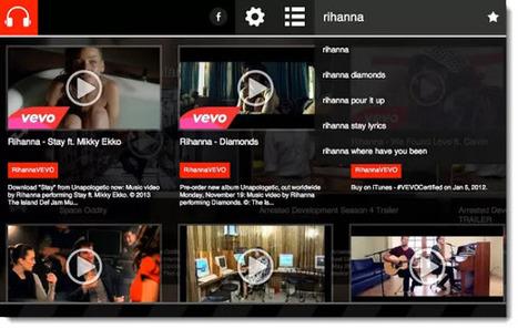 Una manera diferente de visualizar videos de YouTube desde Chrome   Las TIC y la Educación   Scoop.it