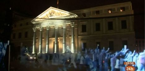The world's first hologram protest held in Spain | Digital Creatives | Scoop.it