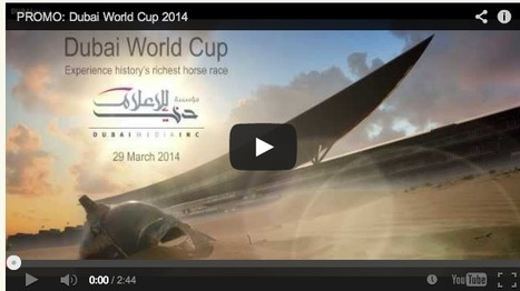 2014 Dubai World Cup on American TV? | The Horsey Set Net | Horse Racing News | Scoop.it