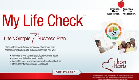 My Life Check - Life's Simple 7 Success Plan | Heart and Vascular Health | Scoop.it