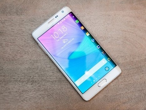 Samsung Galaxy Note Edge Preview   Electronics news   Scoop.it