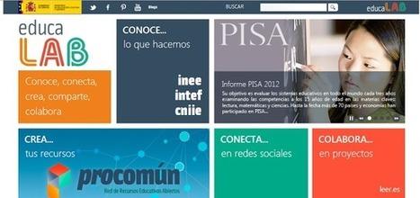e-learning, conocimiento en red: nuevo portal web @educaLAB ...   conecta 3   Scoop.it