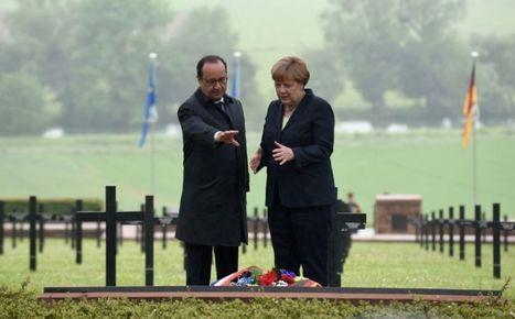 Hollande et Merkel célèbrent «l'esprit de Verdun» | Chroniques du centenaire de la Première Guerre mondiale : revue de presse | Scoop.it